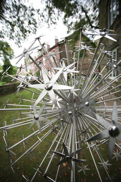 Sculpture Allium Schubertii Ruth Moilliet Sculptor